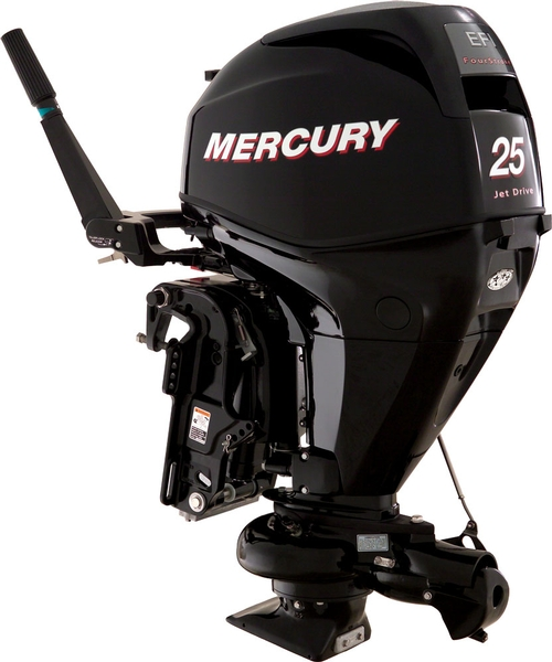 25elh ga four stroke jet the boat place for Mercury outboard jet motors for sale