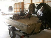 2013 Lowe ST175 Poly Coat Reelfoot River Bottom Camo